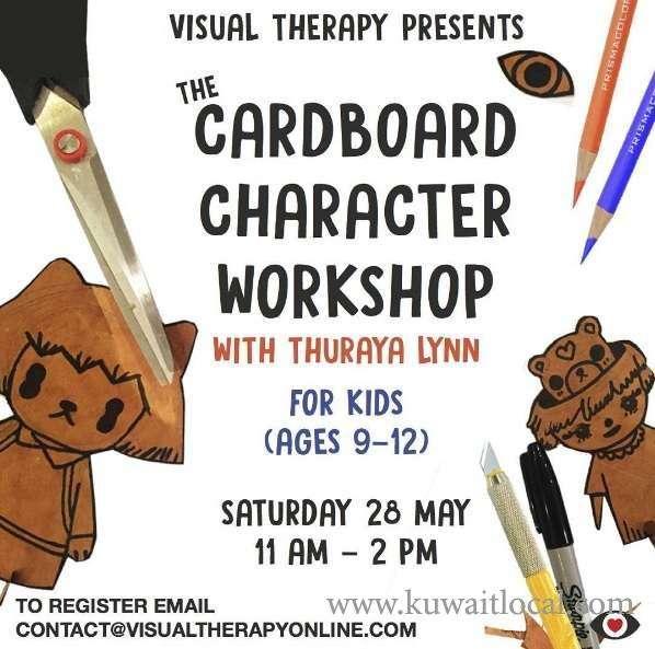 the-cardboard-character-workshop-kuwait