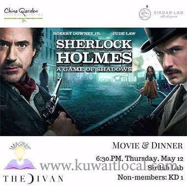 the-divan-movie-night---sherlock-holmes-kuwait