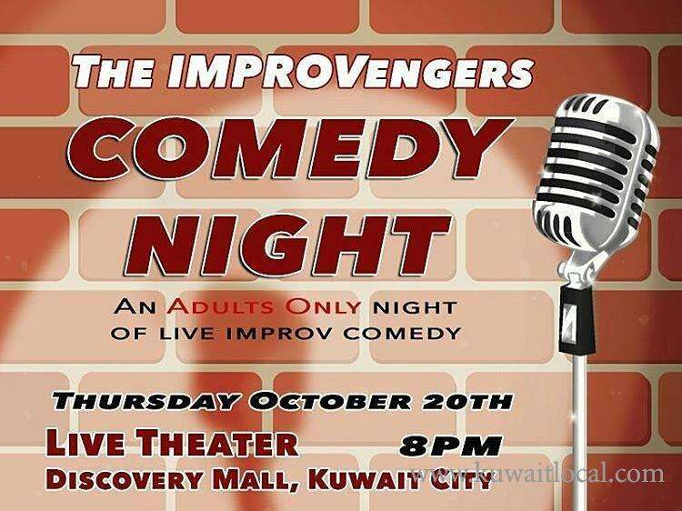 the-improvengers-comedy-night-kuwait