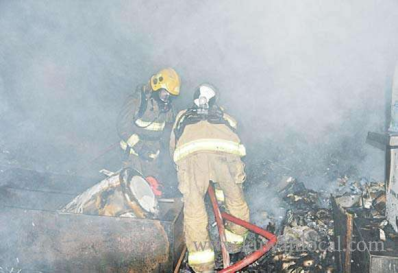 fire-broke-out-in-health-related-equipment-store_kuwait