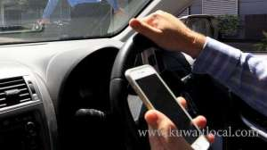 gtd-released-statistical-report-on-motorists-using-mobile-phones-while-driving_kuwait