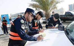 farwaniya-securitymen-arrested-12-reckless-drivers_kuwait