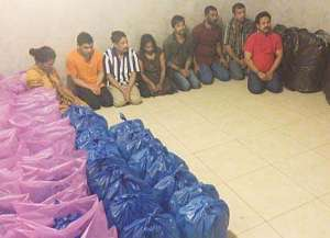 gang-of-bootleggers-and-liquor-manufacturing-material-seized_kuwait