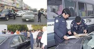 many-drifters-nabbed-during-a-campaign-against-reckless-drivers_kuwait