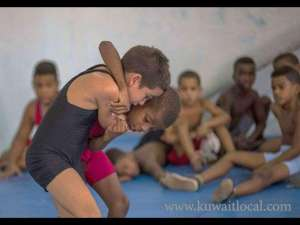 children-wrestling-contest-was-stopped-by-juvenile-police-_kuwait