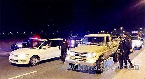 28-motorists-arrested,-39-vehicles-impounded-in-friday-crackdowns-_kuwait