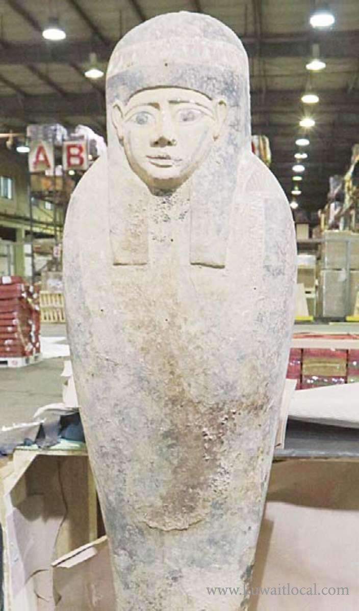 egyptian-foreign-ministry-thanks-kuwait-for-reclaiming-pharaoh-artifact_kuwait
