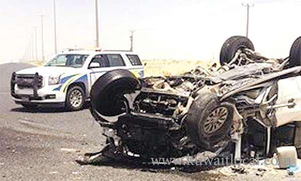 crime-news--an-unidentified-motorist-injured-in-traffic-accident_kuwait