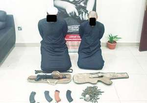2-kuwaitis-held-with-illegal-weapons_kuwait