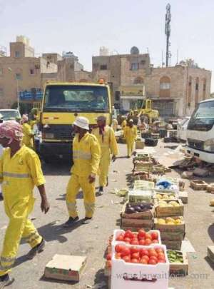 80-citations-were-issued-and-177-cubic-meters-of-various-items-were-confiscated-in-capital--farwaniya-campaigns_kuwait
