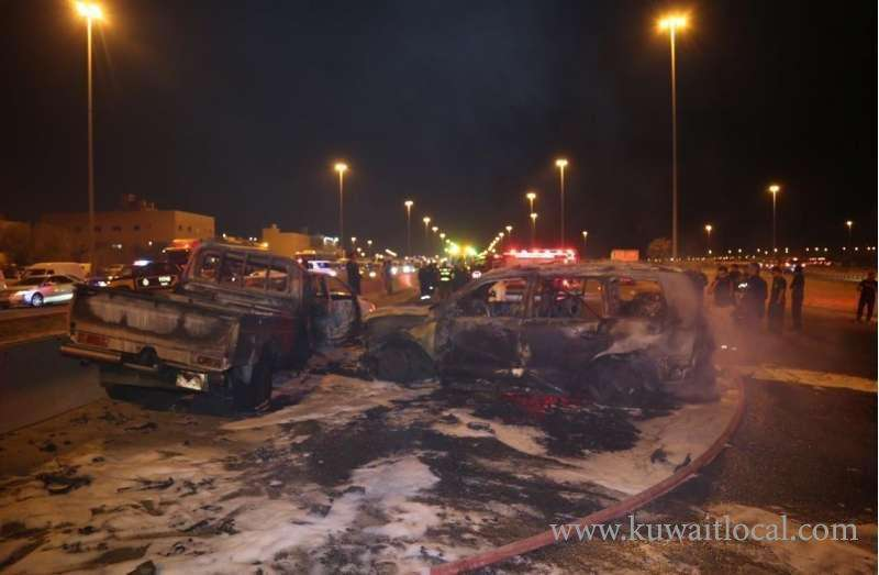 3-persons-charred-to-death-in-4car-tragic-collision_kuwait