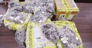 100-fills-of-fake-coins-worth-kd-2000-confiscated-at-kia_kuwait