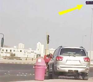 motorist-arrested-for-violating-the-red-signal_kuwait
