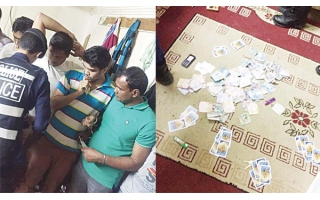 securitymen-arrested-16-asian-expatriates,-who-held-for-gambling_kuwait