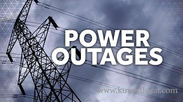 power-outages-in-several-residential-areas-on-friday_kuwait