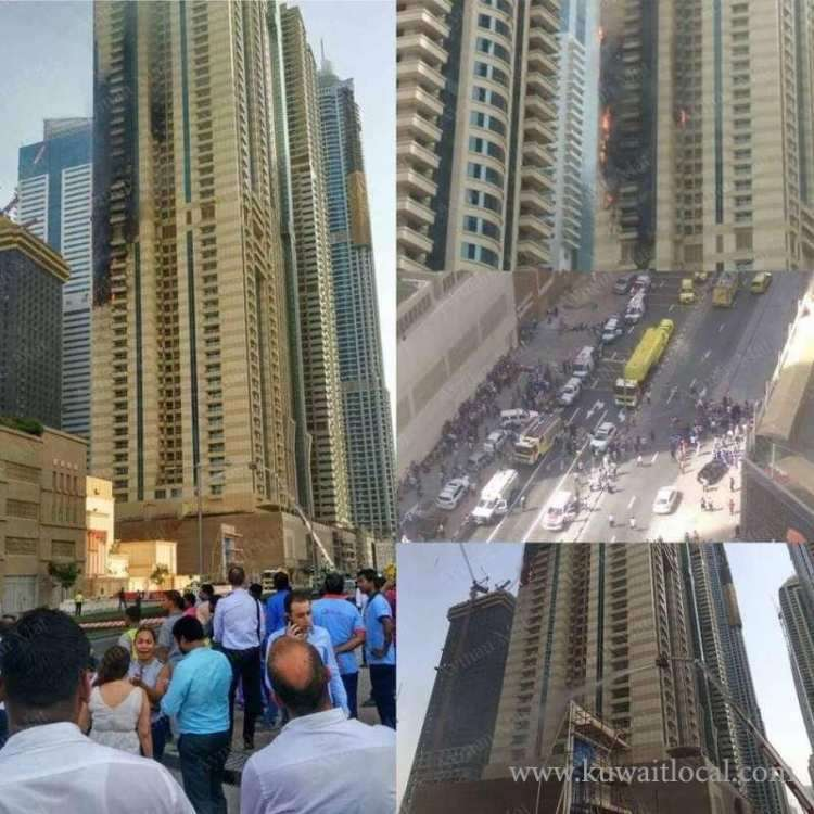 fire-erupts-at-dubai-marina-tower_kuwait
