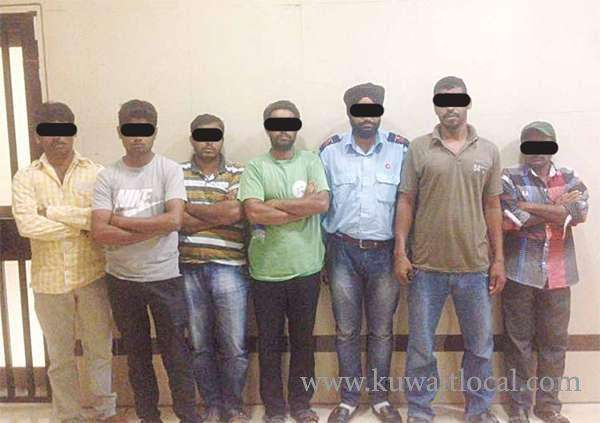 71-arrested-in-salmiya-crackdown,-those-who-wanted-by-law-_kuwait