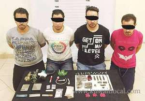 drug-peddlers-gang-arrested_kuwait