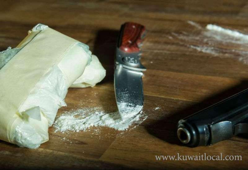 kuwaiti-was-arrested-in-possession-of-drugs-and-a-knife_kuwait