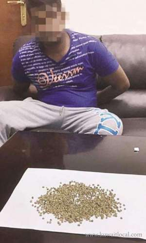 indian-taxi-driver-held-with-seeds_kuwait