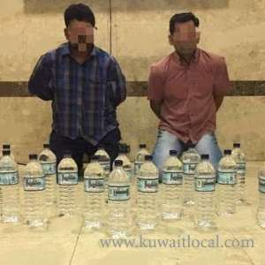 2-indians-arrested-with-liquor_kuwait