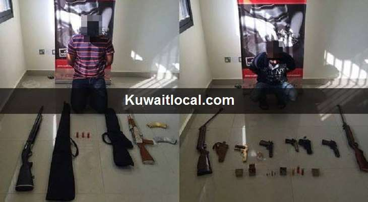 four-citizens-arrested-for-unlicensed-weapons-,-ammunition-possession-_kuwait