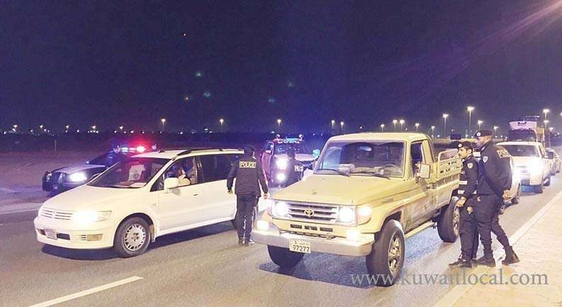 traffic-department-issued-34,919-traffic-citations-in-crackdown_kuwait
