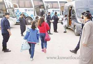 -ahmadi-securitymen-arrested-violators-of-law-and-issued--traffic-citations_kuwait