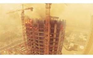 building-on-fire-200-rescued-using-tall-ladder_kuwait