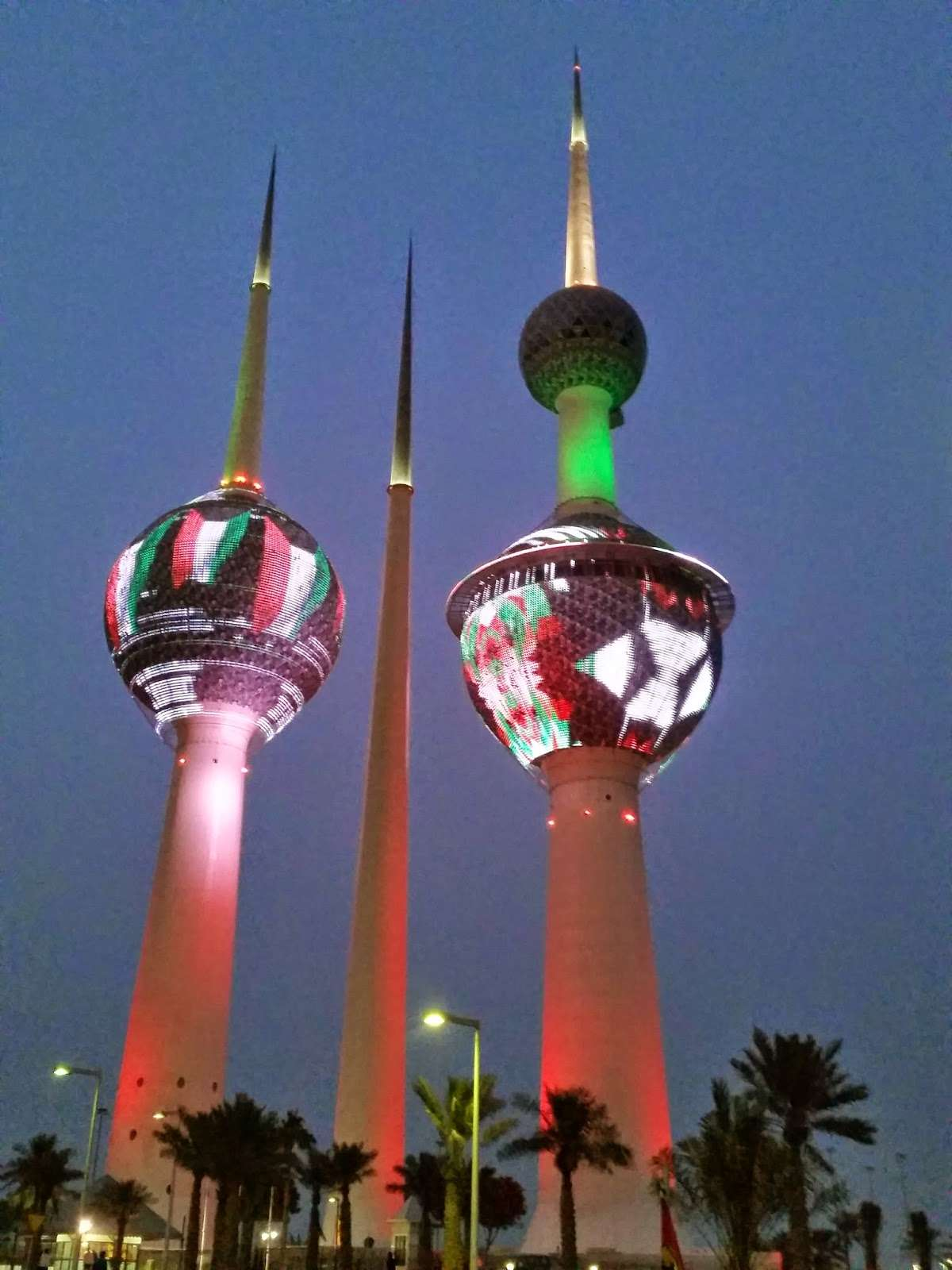 Kuwait tower picture