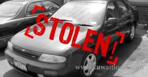 kuwaiti-womans-car-stolen_kuwait