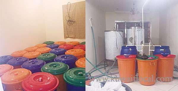 5-asians-arrested-for-running-alcohol-manufacturing-factory_kuwait
