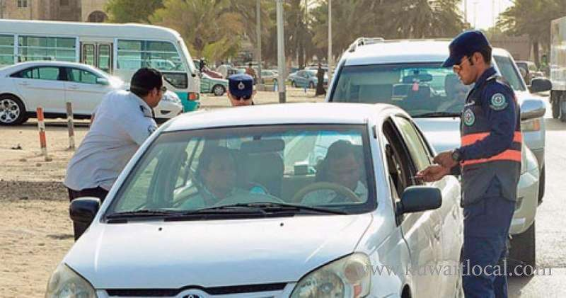 traffic-officers-issued-55-traffic-citations-and-seized-four-vehicles-in-traffic-campaign_kuwait