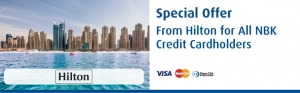 exclusive-hilton-discount-with-nbk in kuwait