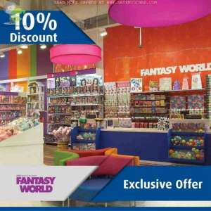 enjoy-a-10percent-discount-from-fantasy-world-toys-kuwait in kuwait