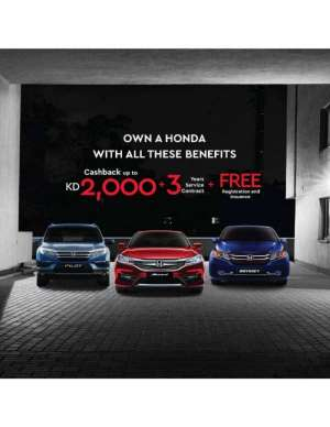 own-a-honda-with-all-these-benefits in kuwait