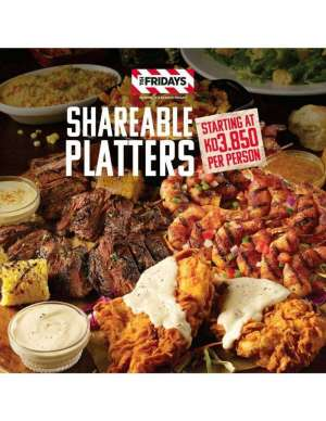 shareable-platters in kuwait