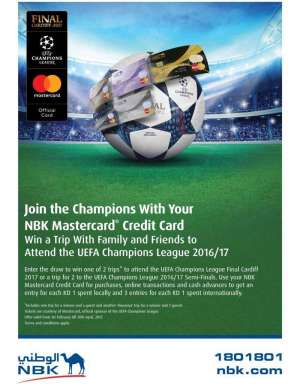 uefa-champions-league-offer-from-nbk in kuwait