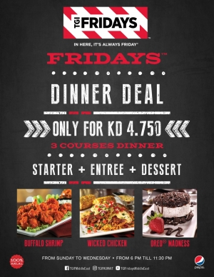 dinner-deal in kuwait