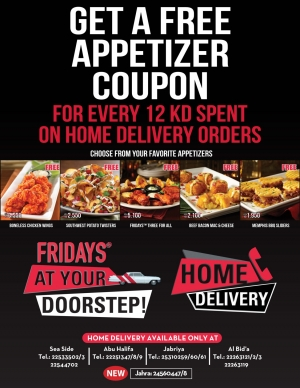 tgi-fridays-offers in kuwait