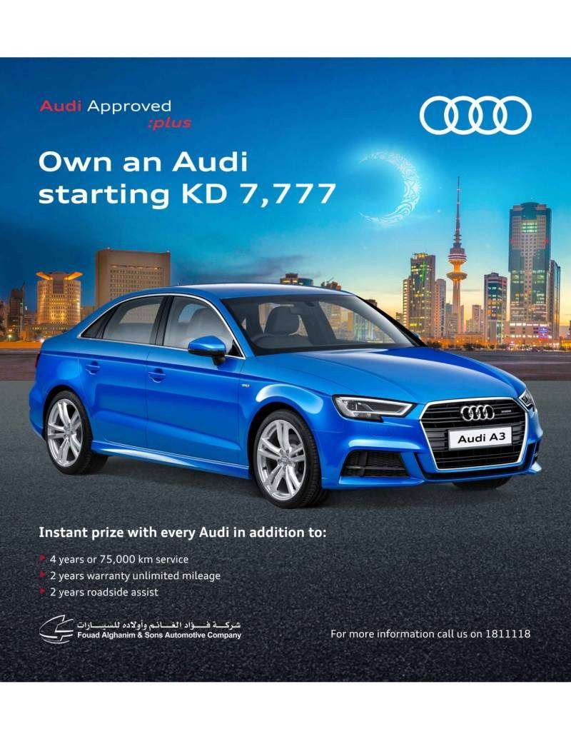 Kuwait Local Audi Offers Audi Car Showroom - Audi offers