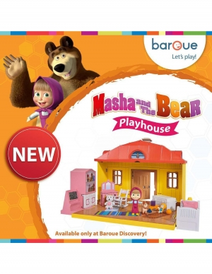 masha-and-the-bear-playhouse in kuwait