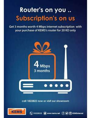router's-on-you-subscription's-on-us in kuwait