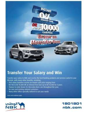 transfer-your-salary-and-win-offer in kuwait