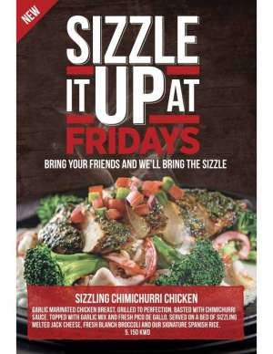 sizzle-it-up-at-fridays in kuwait