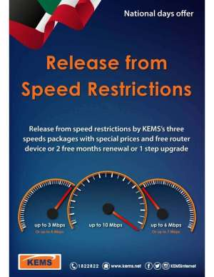 release-from-speed-restrictions---national-days-offer in kuwait