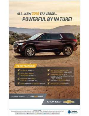 all-new-2018-traverse--powerful-by-nature in kuwait