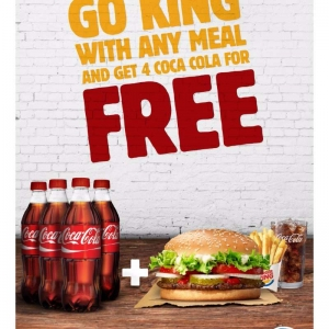 go-king-and-get-4-coca-cola-for-free in kuwait