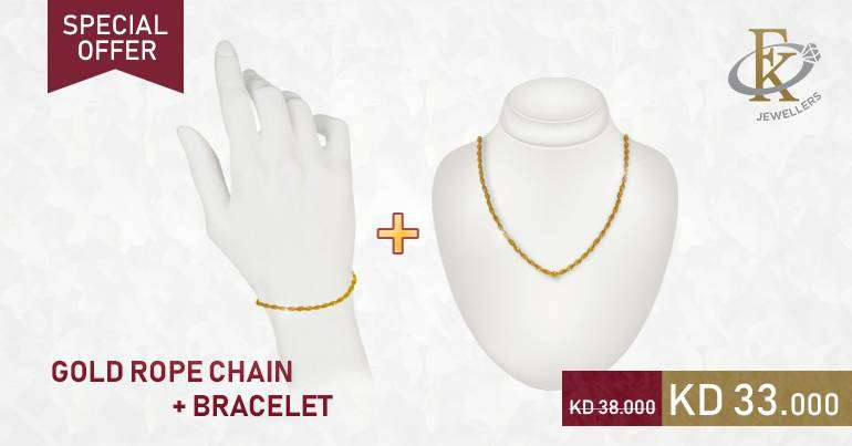 gold-rope-chain-and-bracelet-at-lowest-price--kuwait