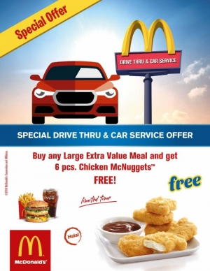 special-drive-thru-and-car-service-offer in kuwait